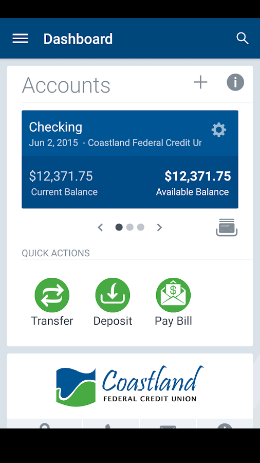 Coastland FCU- screenshot