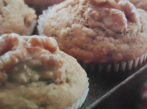 My Oh So Good Healthier Banana Walnut Muffins Recipe