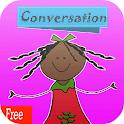 learning basic conversation icon