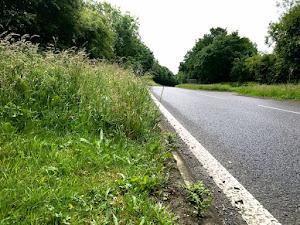Pothole damage costs Powys £45,000