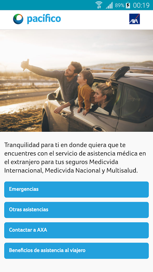 MedicVida Viajes- screenshot