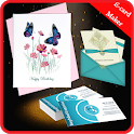 Multi Card Maker - Wedding, Birthday & visiting icon