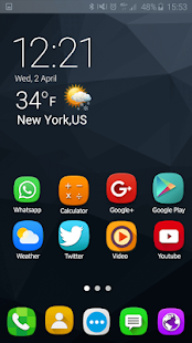 Theme Launcher for Samsung Galaxy note 7 - náhled