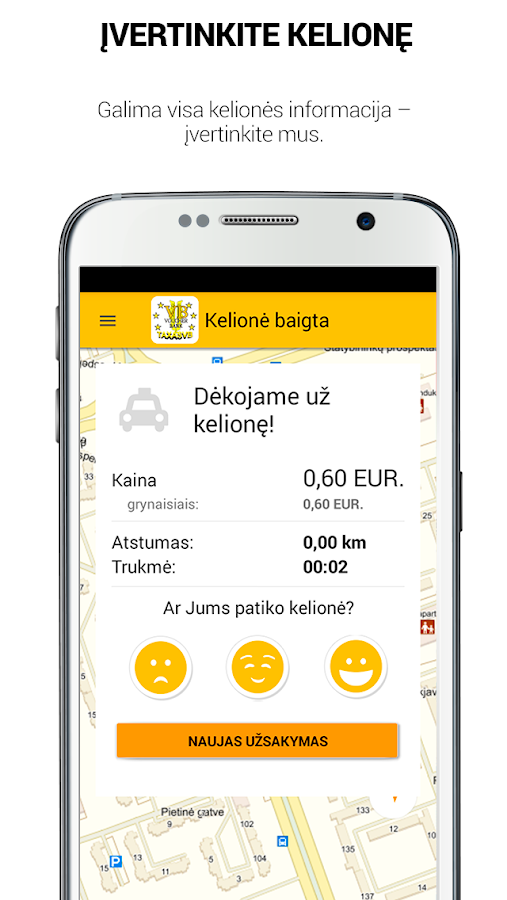 Voucher Bank TAXASVB in Klaipėda- screenshot