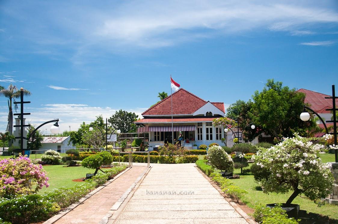 Rumah kediaman Bung Karno saat diasingkan ke Bengkulu.