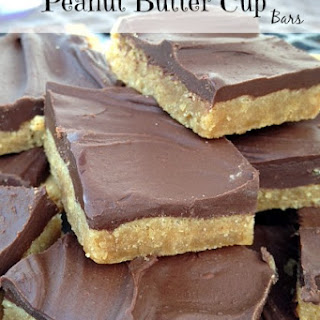 No Bake Peanut Butter Cup Bars.