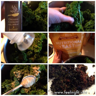 Nutritional Yeast Kale Chips Recipe #nutritionalyeast.
