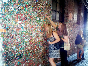 Photo: The Gum Wall at Pike Place Market