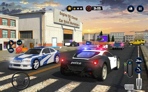 Police Car Wash Service: Gas Station Parking Games 1.2 screenshots 10