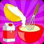 ファッジのアイスクリームのケーキを調理 icon