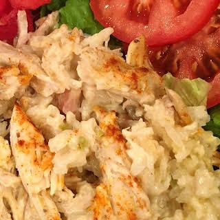 Chicken Rice Casserole.