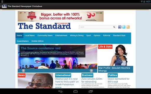 The Standard News Zimbabwe  screenshots 10