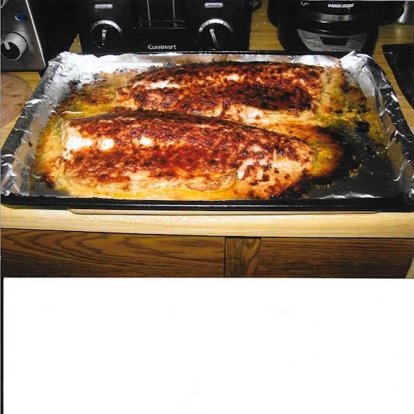 Nelia's Baked Salmon Recipe