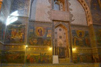 Photo: Esfahan - ormianska świątynia