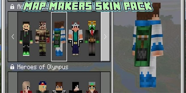 Makers Skin Pack Addons MCPE - náhled