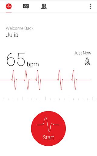 Cardiograph - Heart Rate Meter screenshot 12
