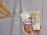 玉蘭豆沙鮮乳