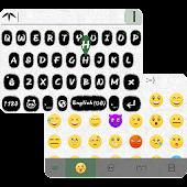 Panda Emoji Keyboard Theme