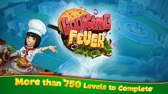 Cooking Fever Mod Apk 9.0.3 (Unlimited Coins + Gems) 4
