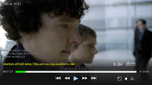 ViMu Media Player for TV screenshot 2