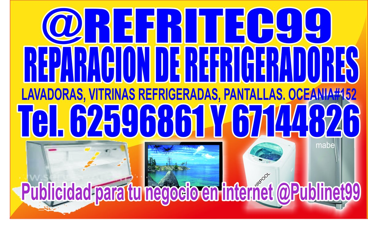 reparacion ds refrigeradores refritec99 cdmx df