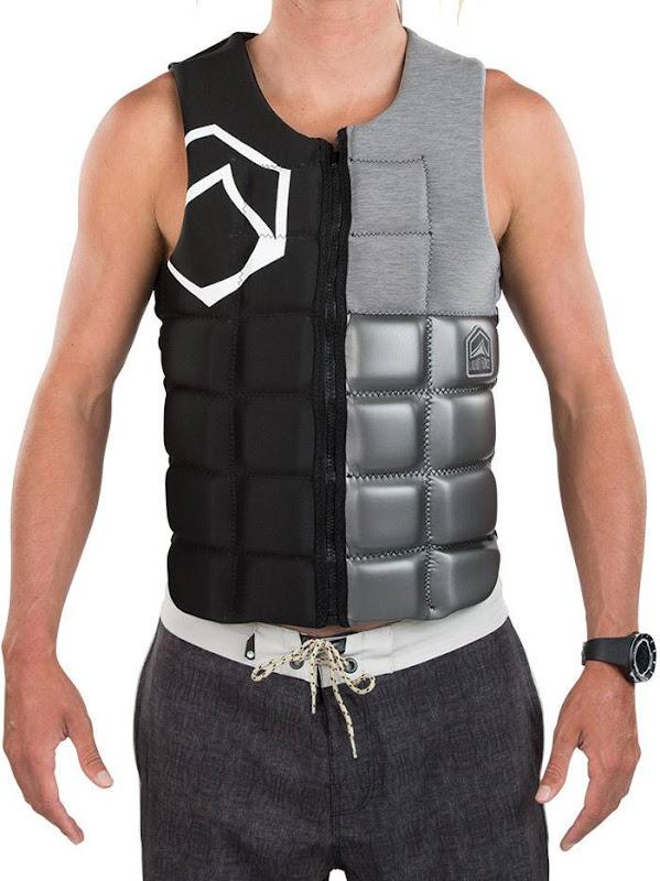 Liquid Force - Flex Comp Impact Vest Black Silver