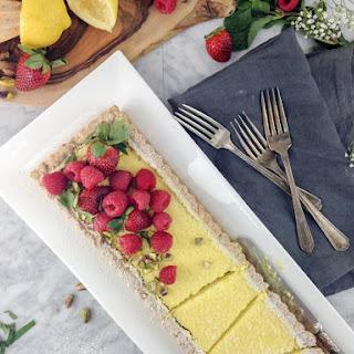 Gluten-Free Lemon Curd Tart | Dairy-Free | Cane Sugar-Free Recipe