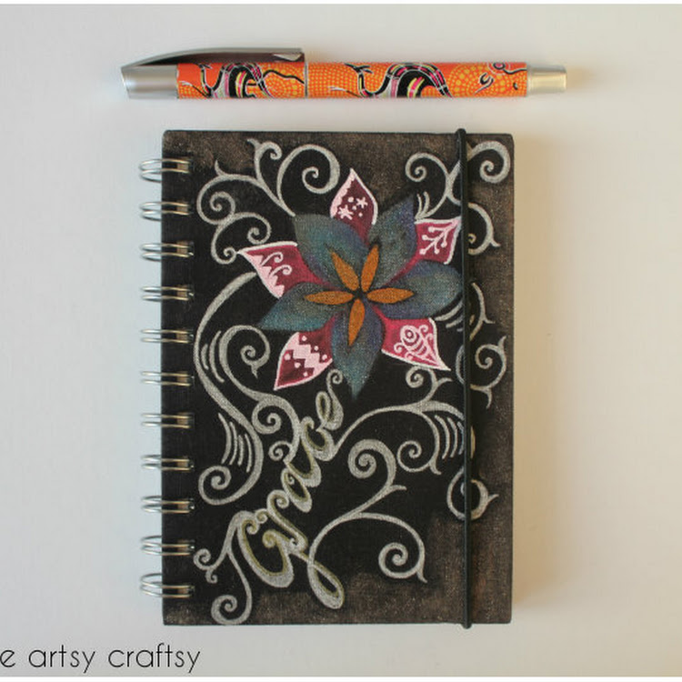 Grace Inspiration - A5 notebook by The Artsy Craftsy