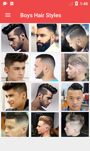 Latest Boys Hairstyle 2018 1.0.3 screenshots 12
