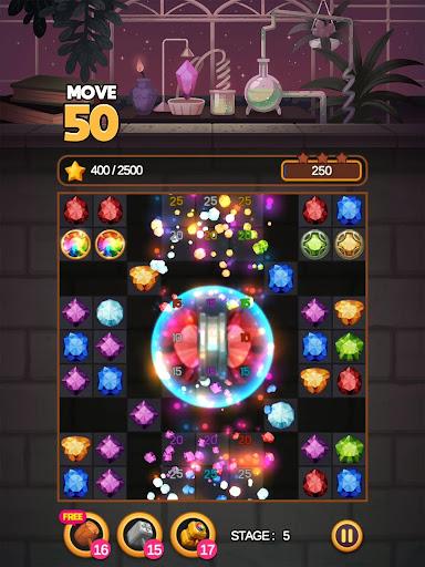 لعبة Jewel Alchemist: مطابقة 3 لقطات من الألغاز 10
