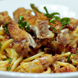 Fried Chicken Spaghetti Recipes