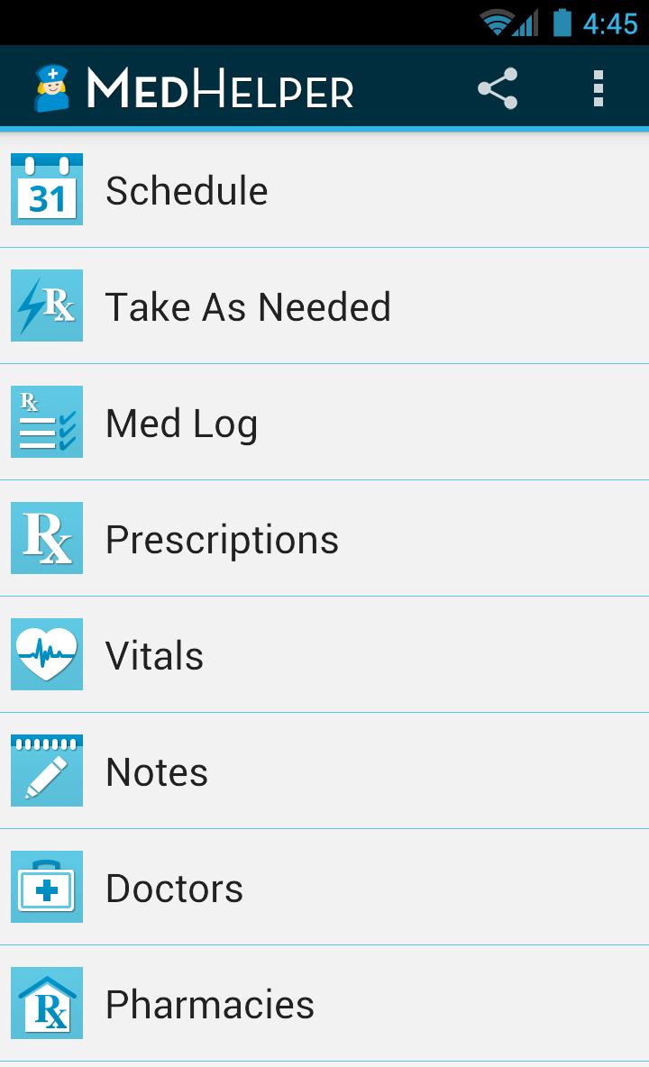 Med Helper Pro Pill Reminder Screenshot 0