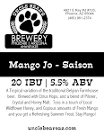 Uncle Bear's Mango Jo Saison