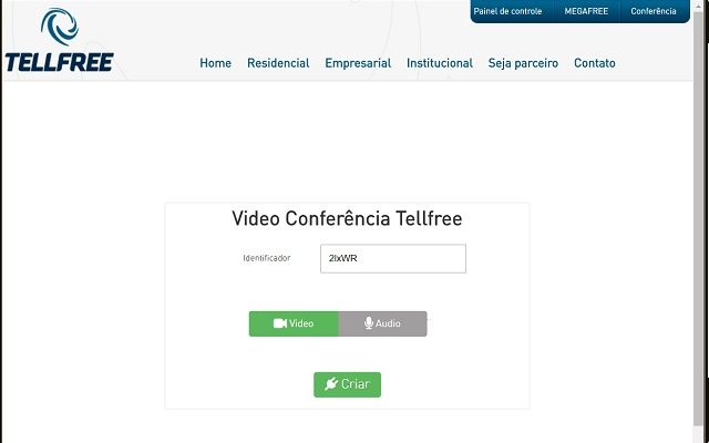 Captura de tela Tellfree