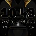 VARGO Digital Clock Widget black icon
