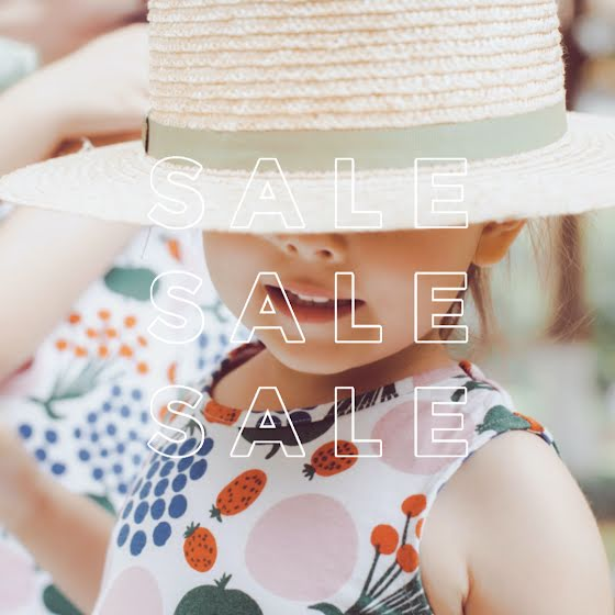 Child in Hat Sale - Instagram Post Template