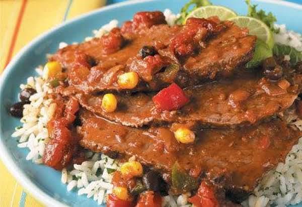 Southwest Sirloin Tip Roast W/ Black Beans/corn Recipe