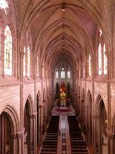 Photo: Inside the church from the rear balcony