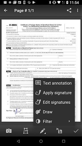 Mobile Doc Scanner (MDScan) + OCR screenshot 2