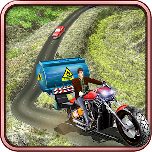 Offroad Moto Oil Tanker Cargo for PC and MAC