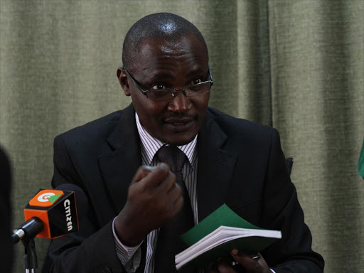 A file photo of Suba South Member of Parliament and ODM national chairman John Mbadi. /JACK OWUOR