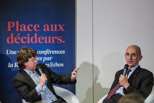 Club Les Echos Débats avec Louis Gallois, Commissaire général à l'investissement