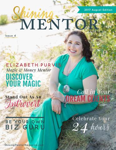 Shining Mentor Magazine- Elizabeth Purvis