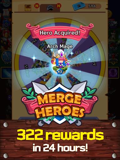 Merge Heroes Frontier: Casual RPG Online screenshots apkshin 12