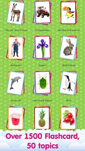 儿童英语抽认卡 – 幼儿看图说话认字启蒙教育