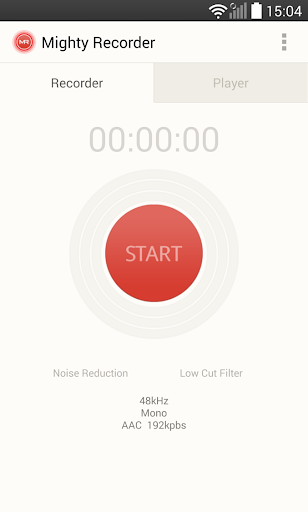 Mighty Recorder:HQ Audio Voice