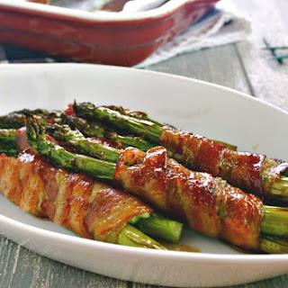 Bacon-Wrapped Asparagus Bundles.