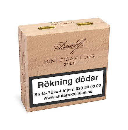 Davidoff Mini Gold  50 st