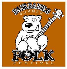 "Photo: ""Fairbanks Summer Folk Festival"" tshirt design"