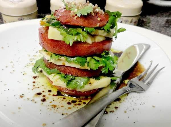 Not Yo Classic Caprese Salad